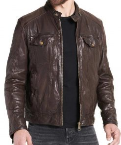 casual-brown-leather-jacket