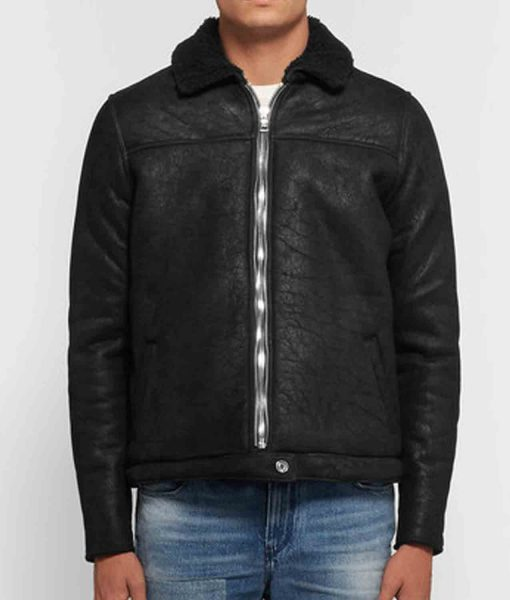 cow-black-leather-shearling-jacket