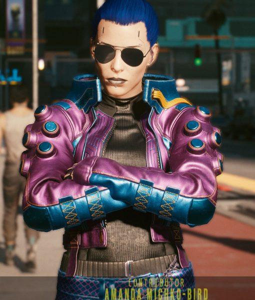 cyberpunk pozer jacket