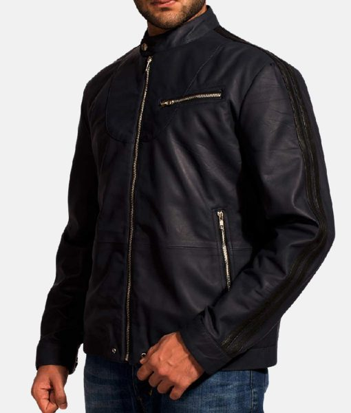 dark-blue-leather-biker-jacket