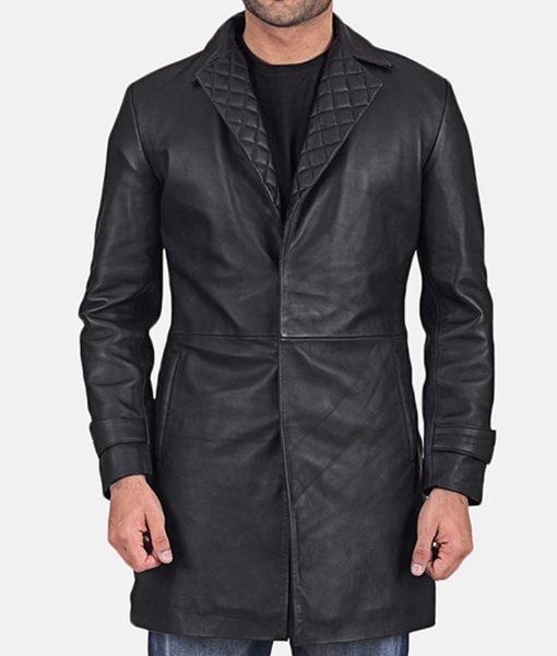 infinity-black-leather-coat
