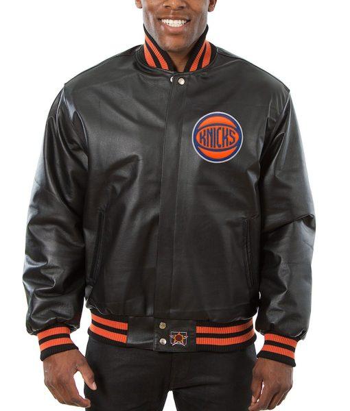 knicks-leather-jacket