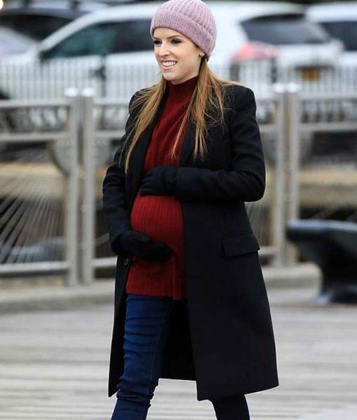 love-life-anna-kendrick-black-wool-coat
