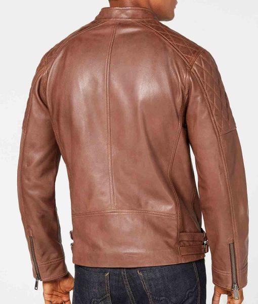 mens-asymmetrical-brown-leather-jacket
