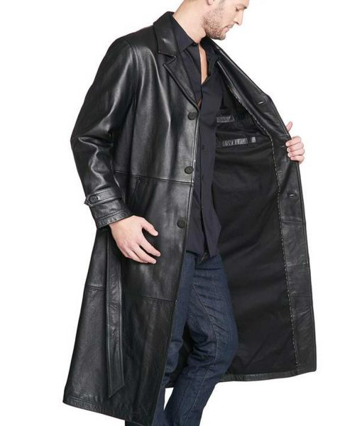 mens-belted-leather-coat