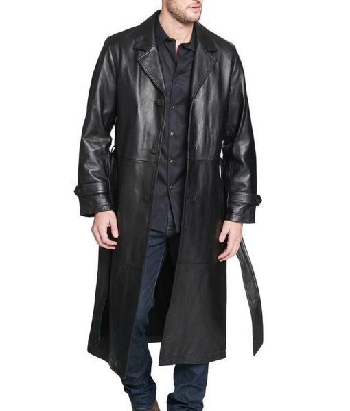 mens-belted-trench-leather-coat