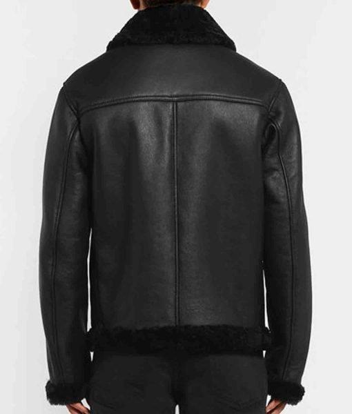 mens-black-shearling-jacket