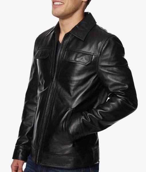 mens-full-zip-black-leather-jacket