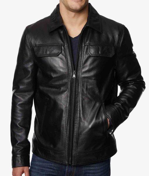 mens-full-zip-leather-jacket