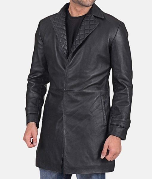 mens-infinity-black-leather-coat