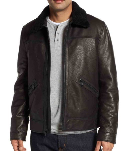 mens-leather-jacket-with-fur-collar
