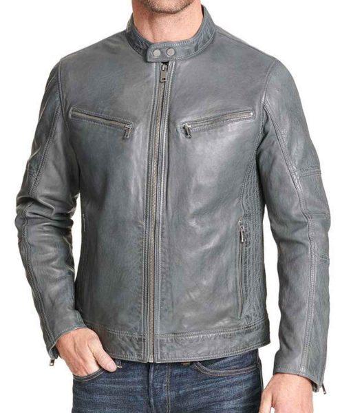 mock-collar-leather-jacket