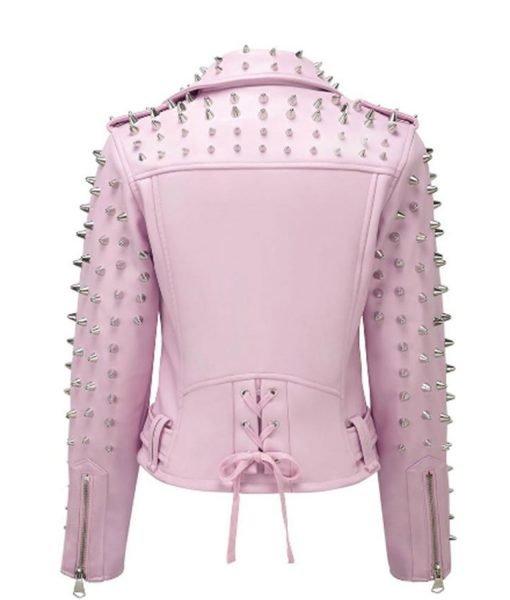 pink-studded-leather-biker-jacket