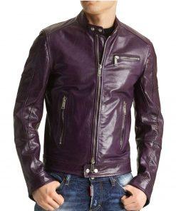 purple-motorcycle-jacket