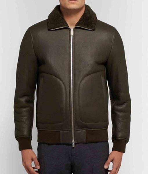 shearling-black-leather-jacket
