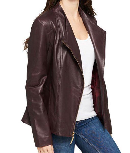 womens-asymmetrical-burgundy-jacket