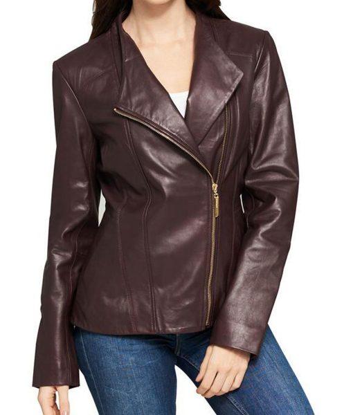 womens-asymmetrical-burgundy-leather-jacket