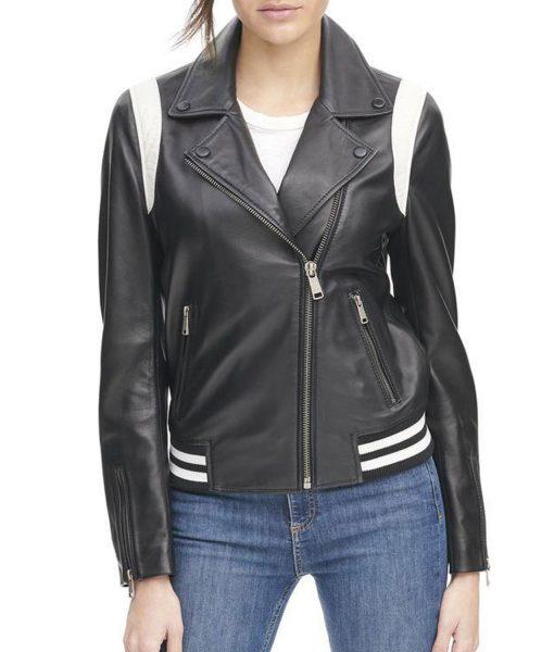 womens-asymmetrical-leather-bomber-jacket