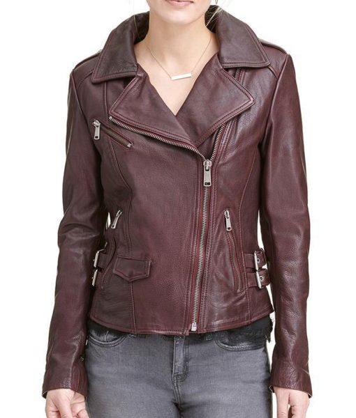 womens-asymmetrical-moto-burgundy-leather-jacket