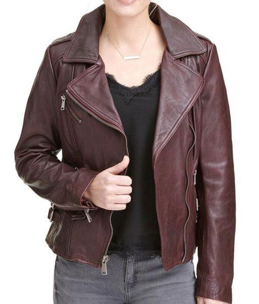 womens-biker-burgundy-jacket