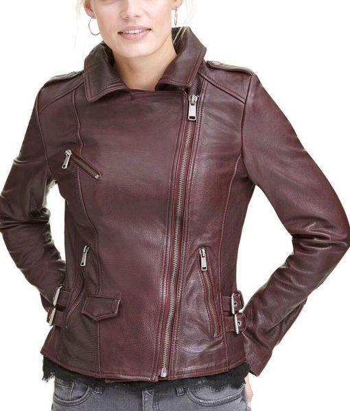 womens-biker-burgundy-leather-jacket