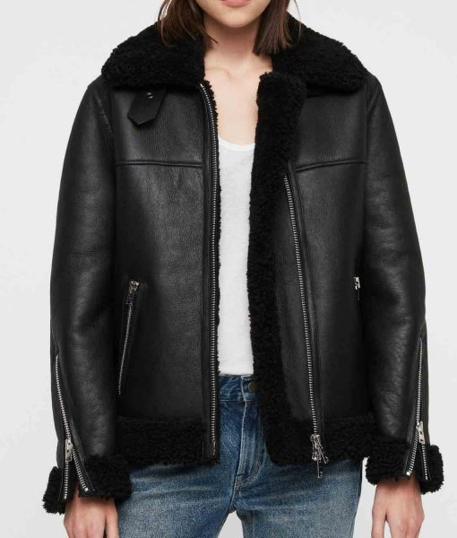 womens-black-leather-shearling-jacket