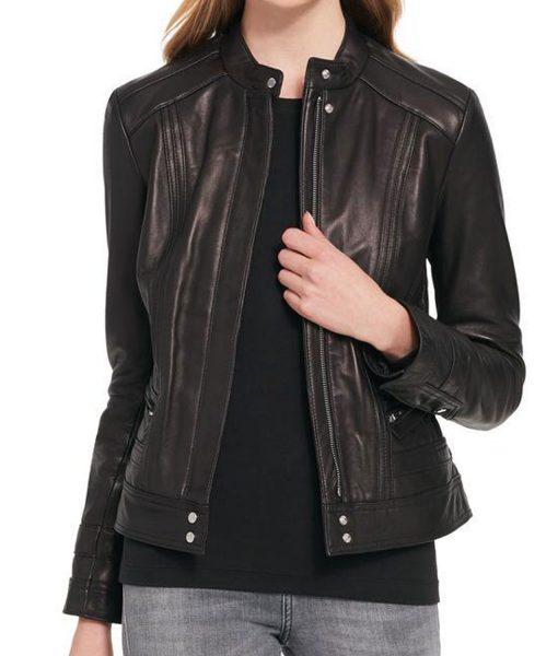 womens-black-rivet-scuba-jacket