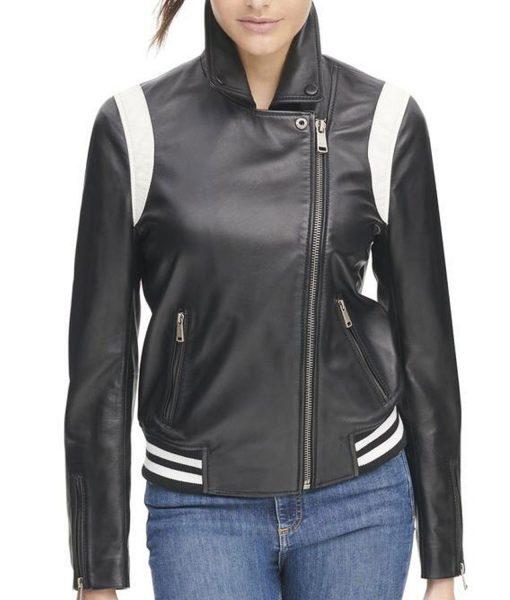 womens-bomber-asymmetrical-leather-jacket