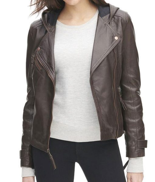 womens-brown-jacket-with-hood