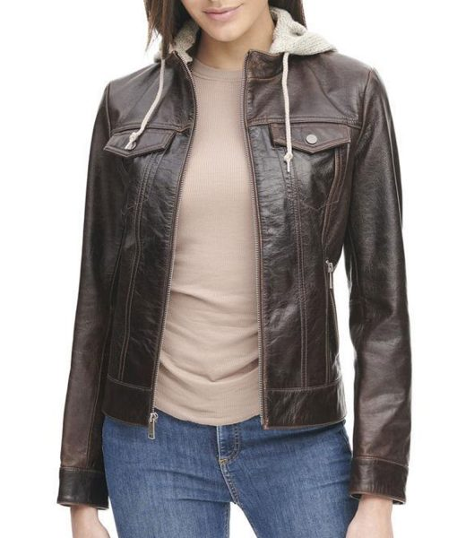 womens-crackle-leather-jacket-with-hood