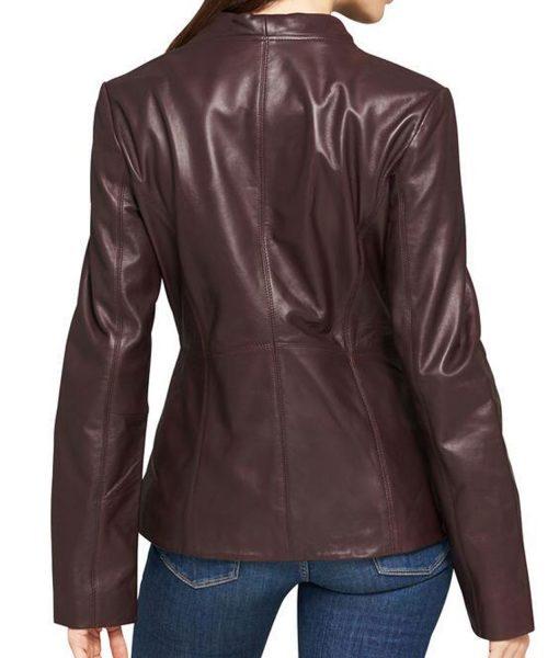 womens-designer-asymmetrical-burgundy-leather-jacket
