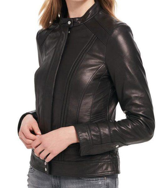 womens-rivet-scuba-leather-jacket