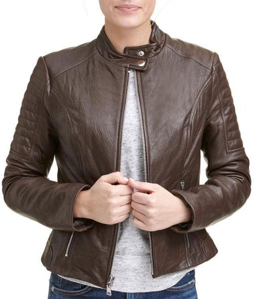 womens-scuba-quilted-brown-jacket