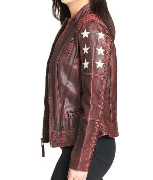 womens-stars-brown-jacket