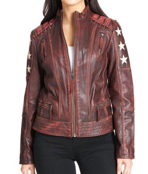 womens-stars-leather-jacket