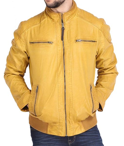yellow-bomber-jacket