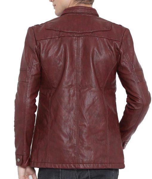 burgundy-faux-jacket