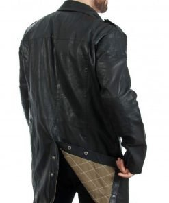 mens-black-leather-trench-coat