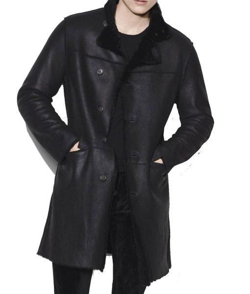 mens-black-shearling-coat