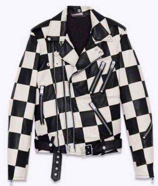 paris-buckingham-checkered-leather-jacket