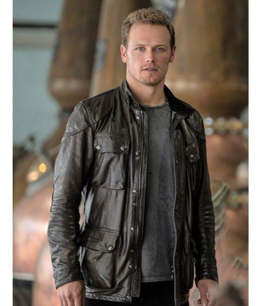 sam-heughan-men-in-kilts-leather-jacket