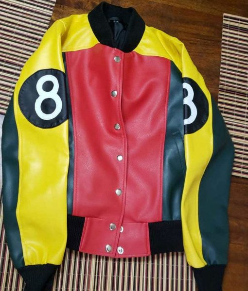 womens-8-ball-leather-jacket