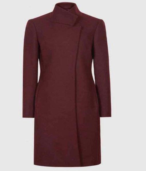 danielle-rose-russell-maroon-wool-coat