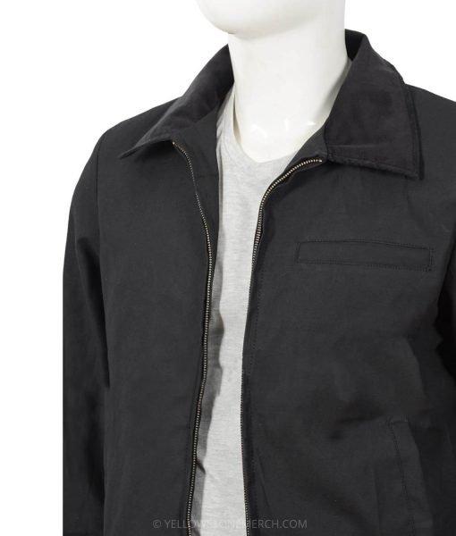 kevin-costner-black-cotton-jacket