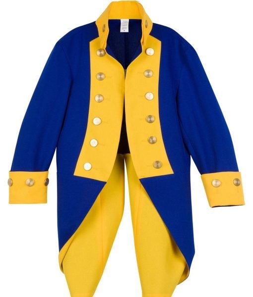american-revolutionary-war-officers-blue-and yellow-jacket