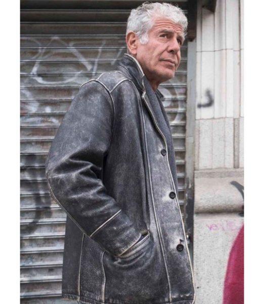 anthony-bourdain-distressed-leather-jacket