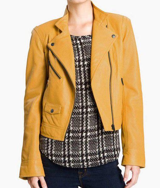 aria-montgomery-yellow-leather-jacket