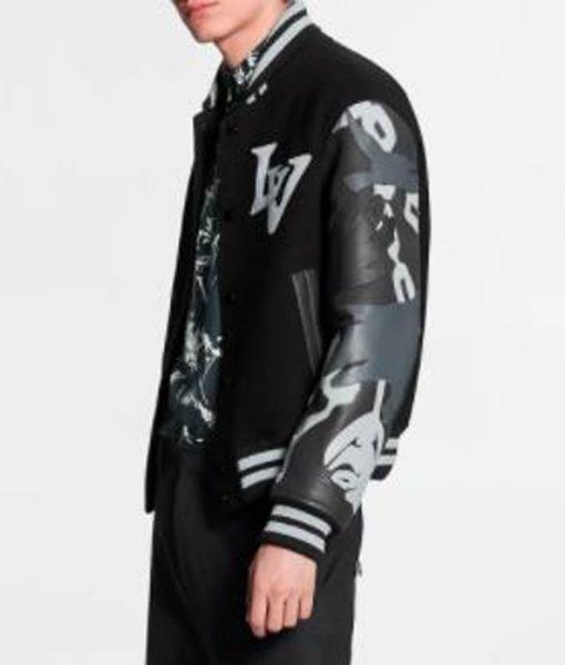 chains-camo-lv-black-jacket