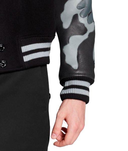 chains-camo-lv-black-varsity-jacket