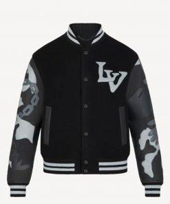 chains-camo-varsity-jacket